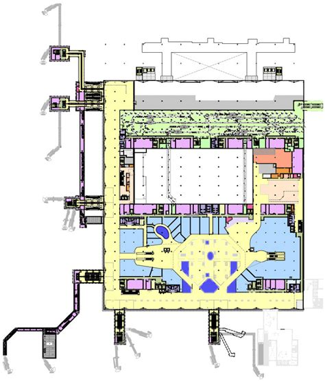 terminal 5 floor plan gallery of terminal 2a heathrow luis vidal architects 13