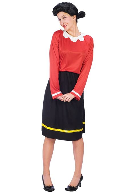 costume for adults olive oyl costume