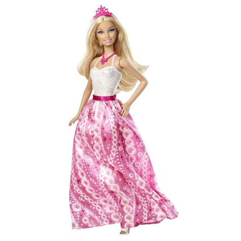 princess barbie house barbie dolls fairytale fashion pink and white princess doll at toystop