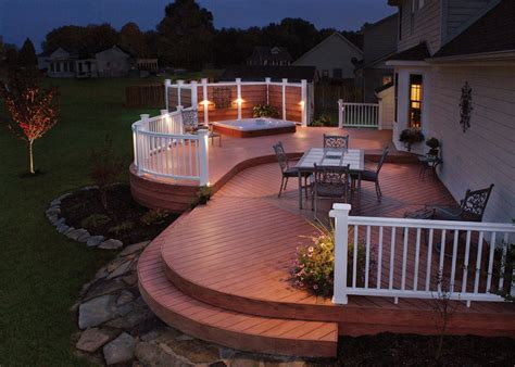 Patio Deck Lighting Ideas Deck Lighting Fixtures Lighting Design Pictures