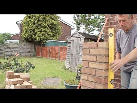 Garage Slab Design how to build a brick pillar youtube