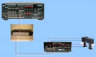 Power Lifier Sony series speaker crossover wiring diagram surround speaker