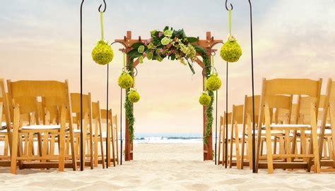 all inclusive weddings in los angeles ca pismo wedding packages from seaventure hotel