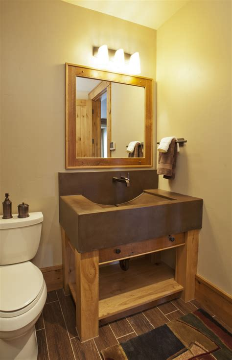 western style bathroom vanities western interior design options for adding your home
