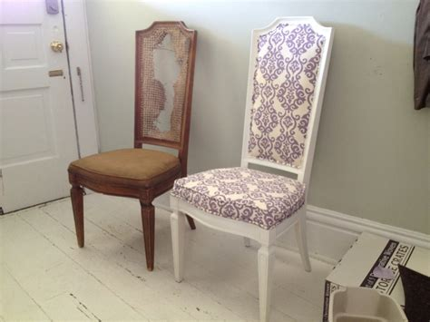 how to upholster dining room chairs one woman s trash is another woman s treasure