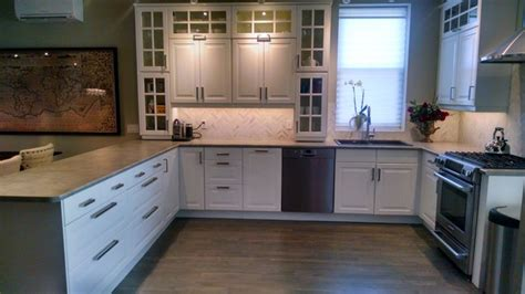 off white kitchen houzz ikea kitchen bodbyn off white traditional kitchen