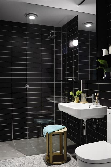 White And Black Tiles For Bathroom by Black Bathroom Tile Tile Design Ideas