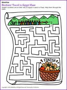 brother s travel to eqypt joseph maze kids korner