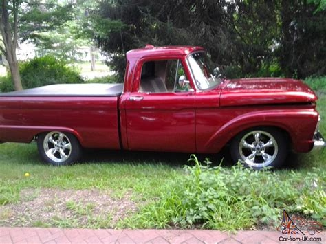 short bed 1964 ford short bed pickup truck with 350 chevy motor