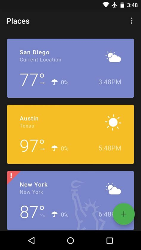 the best weather app for android the 5 best weather apps for android 171 android gadget hacks