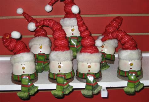 snowman holders for mantle two for tuesday place