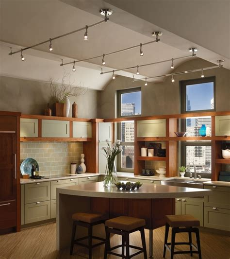 unique kitchen track lighting ideas decozilla