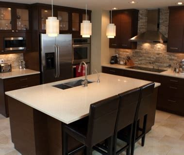 contemporary home decorating custom kitchens cabinets modern custom kitchen o brien woodworking