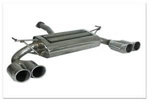 Exhaust System Kia Sportage Dual Pipe Exhaust System Kia Sportage Vm02199