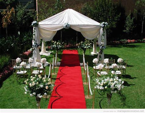 decor pour jardin d 233 coration jardin pour mariage le mariage