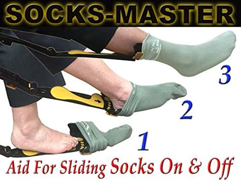 sock aid for the elderly socks master easy reach shoehorn sock donning device