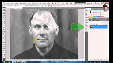 fotos antiguas para restaurar aprende a restaurar fotos antiguas con photoshop youtube