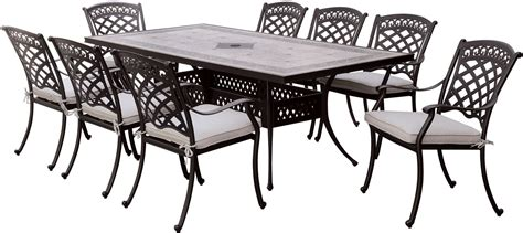 Antique Black Dining Table Charissa Antique Black Patio Dining Table Cm Ot2125 T Furniture Of America