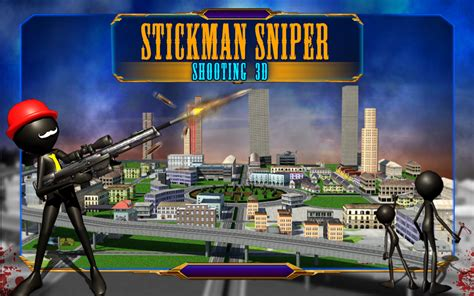 amazoncom stickman sniper shooting  appstore  android