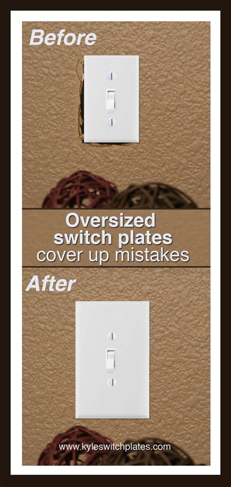 light up outlet covers oversized light switch plates outlet covers cover up