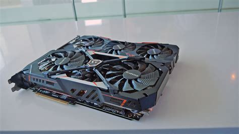 gtx 1080 single fan gigabyte presents geforce gtx 1080 xtreme gaming stacked