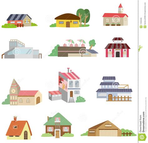 tiny house cartoon cartoon house icon royalty free stock photo image 17635345