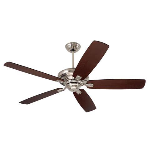 hton bay san marino 36 in brushed steel ceiling fan