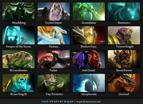 dota 2 wallpaper bundle dota 2 faceswap pack 2 by majan22 on deviantart