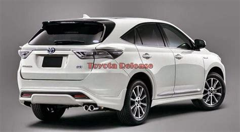 2015 toyota harrier 2014 toyota harrier release date and price html autos weblog