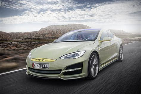Driverless Tesla Rinspeed Xchange Driverless Tesla Model S Hiconsumption