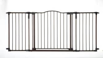Wide Stair Gates by Child Safety Gate Metal Expansion Baby Fence Extra Wide