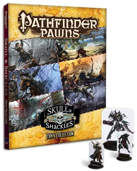 starfinder pawns archive pawn box books paizo pathfinder adventure path skull shackles