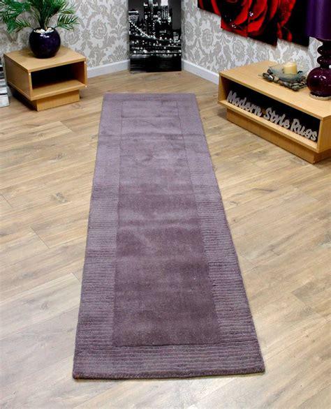 modern runner rugs for hallway 100 wool border thick quality modern carpet way runner rug 60x230cm