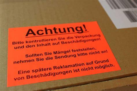 Dhl Etiketten Aufkleber by Versand Aufkleber