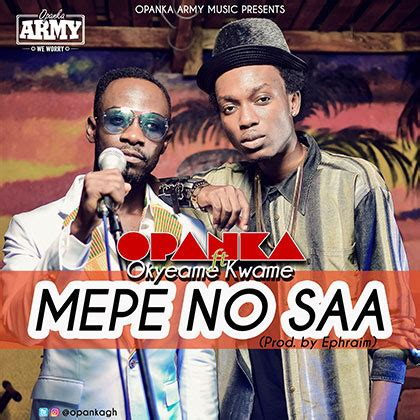 Wedding Car Ft Opanka by Opanka Ft Okyeame Kwame Mepe No Saa Blissgh