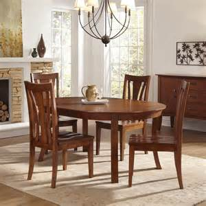 Round Dining Room Sets With Leaf A America Furniture Grant Park 5 Piece 50x50 Round