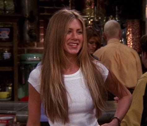 rachel greene wavy hair season 6 rachel green hair is goals silver screen