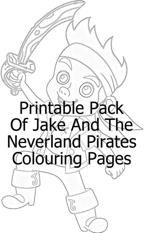 printable coloring pages jake and the neverland pirates 86 best nathan s pirate party images on pinterest pirate