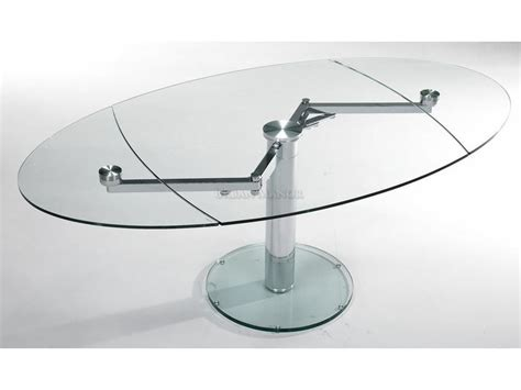 expandable glass dining table intrepid extensible dining table the industrial feel of