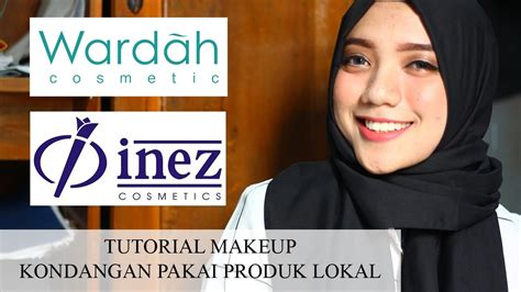 Eyeshadow Inez Vs Wardah makeup kondangan pakai produk lokal wardah inez