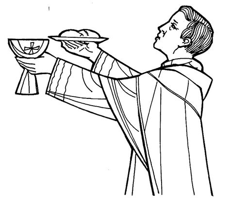 catholic coloring pages eucharist communion pictures clip art cliparts co