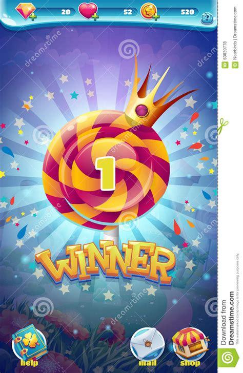 finestra mobile finestra mobile vincitore gioco gui mondo