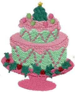 Superb Pictures Of Christmas Cakes #3: Christmas_Bday_Cake.jpg
