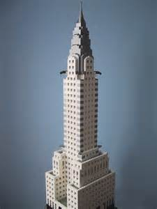 What Is The Chrysler Building Made Of Kenney With Lego Bricks The Chrysler Building