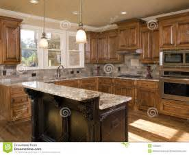 luxury kitchen island luxury kitchen two tier island royalty free stock image image 6769266
