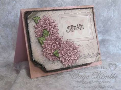 Vintage Handmade Cards - creative elements for a handmade vintage card sting madly
