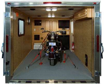 Travel Trailer Toy Hauler Floor Plans by Motorcycle The Rving Lifestyle