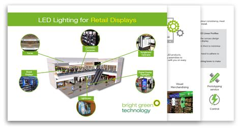 retail store lighting guide guide lighting retail displays bright green technology