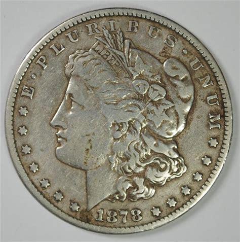 1878 silver dollar 1878 cc silver dollar vf