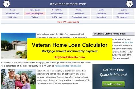 17 best images about va loan calculator on